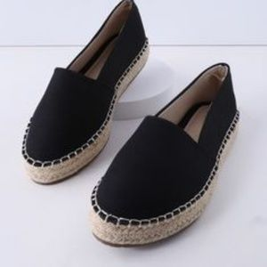 Torrid Black espadrilles loafer size 12 wide
